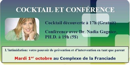 Cocktail et conférence