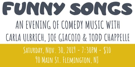 Funny Songs: An Evening of Comedy Songs tickets