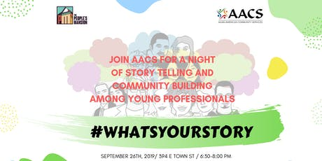 #WhatsYourStory - A Night of Storytelling tickets