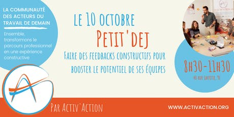 Petit'Dej - Faire des feedbacks constructifs tickets