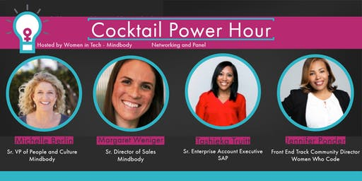 Cocktail Power Hour: Networking and Panel