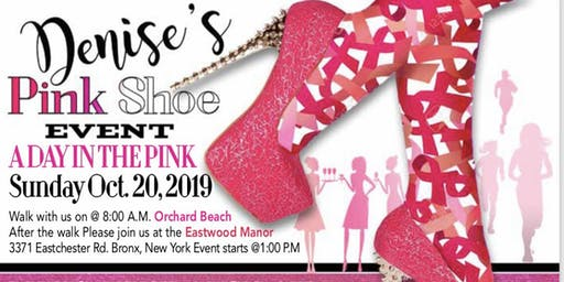 Denise's Pink Shoe Event