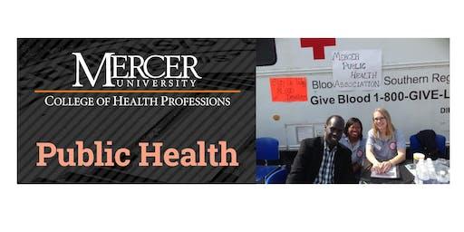 Public Health Program Information Session (ONLINE)