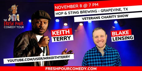 The Fresh Pour Comedy Tour at Hop & Sting Brewing tickets