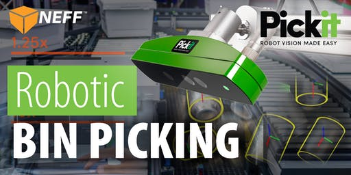 Robotic Bin Picking Made Easy with Pickit 3D