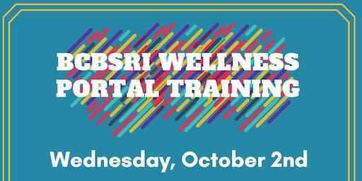 BCBS Wellness Portal Training