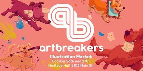 ArtBreakers Illustration Market: Year 3 tickets