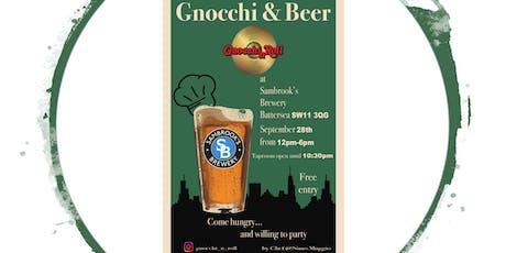Gnocchi'n' Beer tickets