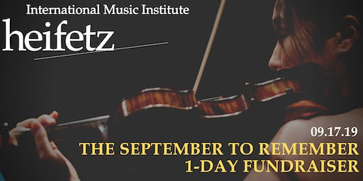 The #Heifetz2019 1-Day Challenge