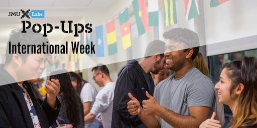 Pop-Up Workshop: International Week