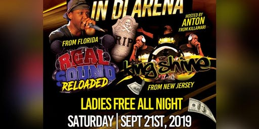 DEATH IN THE ARENA SOUND CLASH REAL SOUND RELOADED VS KING SHINES