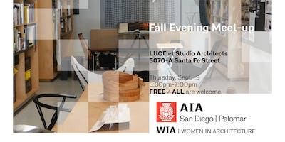 WIA's Fall Evening Meet-up
