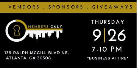 NETWORKING ATL - NETWORKING MIXER AND EXHIBITION tickets