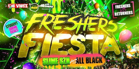 FRESHERS FIESTA - Brighton's Biggest Freshers Party tickets