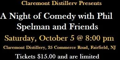 A night of Comedy with Phil Spelman and Friends at the Distillery