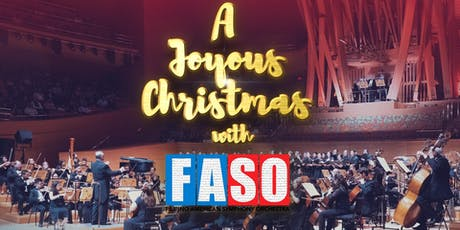 A Joyous Christmas with FASO tickets