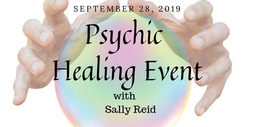 Live Answers and Healing with Psychic Healer Sally Reid