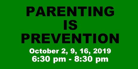 Parenting is Prevention - October 2019 tickets