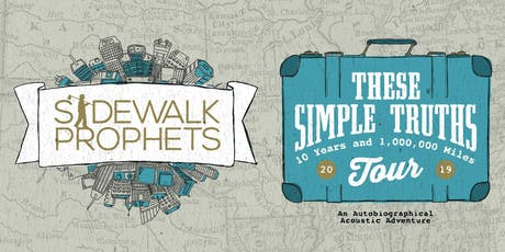 Sidewalk Prophets VOLUNTEERS - North Augusta, SC tickets