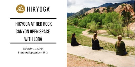 Hikyoga at Red Rock Canyon Open Space with Lora