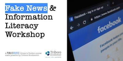 TEENS: Fake News and Information Literacy Workshop
