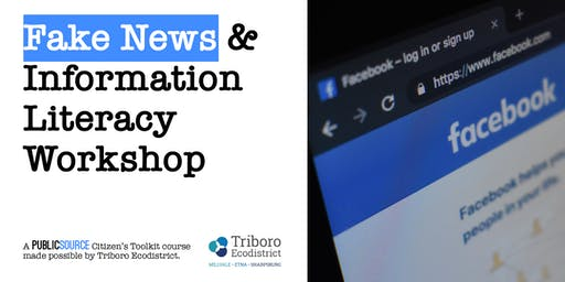 TEENS: Fake News and Information Literacy Workshop