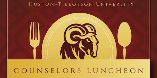 Huston-Tillotson University Counselor's Luncheon