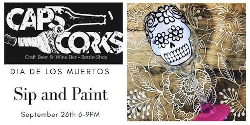 Dia de Los Muertos Sip & Paint