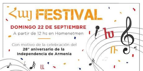 Հայ Festival entradas