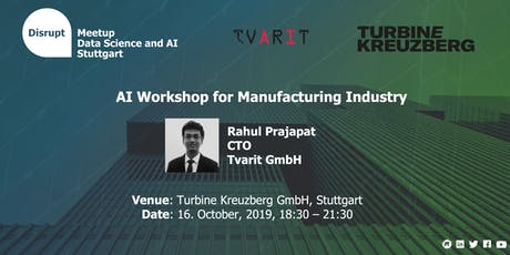 AI workshop for Manufacturing Industry tickets