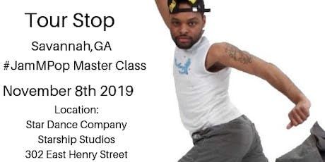 #JamMPop Master Class (Savannah,GA Edition) tickets