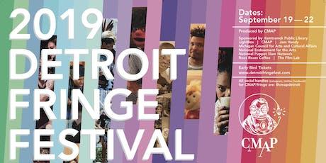 Detroit Fringe Festival 2019 tickets