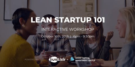 Lean Startup 101 Interactive Workshop tickets