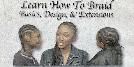 LEARN HOW TO BRAID WORKSHOP - HARRISBURG, PA tickets