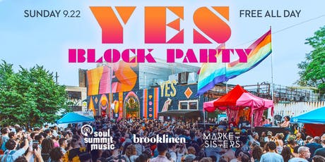 YES Block Party tickets