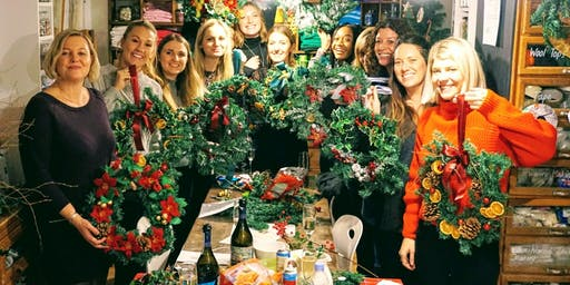 Make Your Own Christmas Wreaths! (with BYOB)