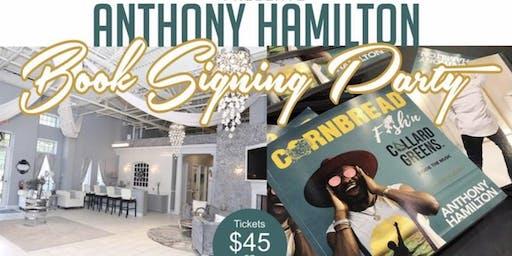 Anthony Hamilton Book Signing