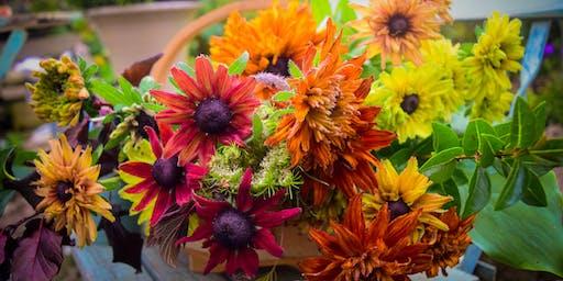 Autumn Flower Posy Workshop at Westonbirt Arboretum