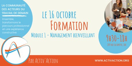 Formation - Management bienveillant (Module 1) billets