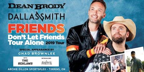Friends Don't Let Friends Tour Alone 2019