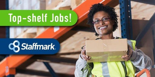 Top-Shelf Jobs Hiring Event!  presented by Staffmark