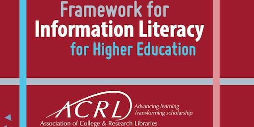 2019 VCAL/VLA Workshop: ACRL Framework for Information Literacy for Higher Education