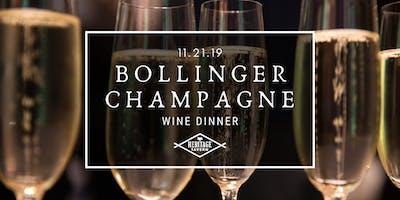 Bollinger Champagne Dinner