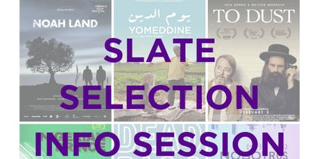 Slate Info Session & Workshop tickets