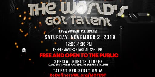 The World's Got Talent (2019 Multicultural Fest)