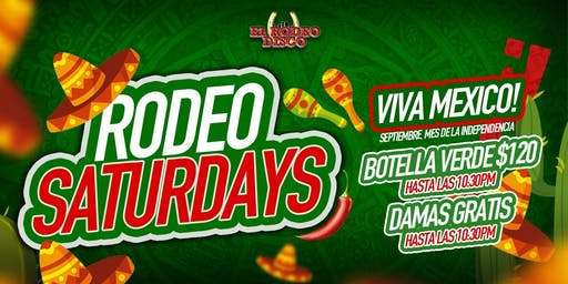 RODEO SATURDAYS  09/21/19