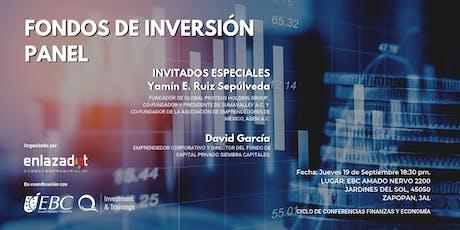 PANEL FONDOS DE INVERSIÓN tickets