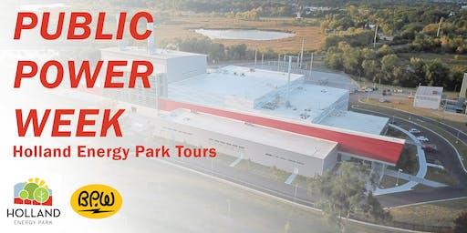 Public Power Week Plant Tour - Morning
