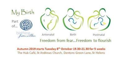 'My Birth' Antenatal Course Autumn 2019