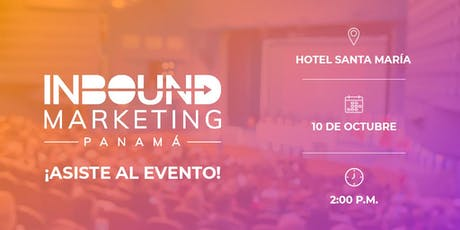 Inbound Marketing Panamá tickets